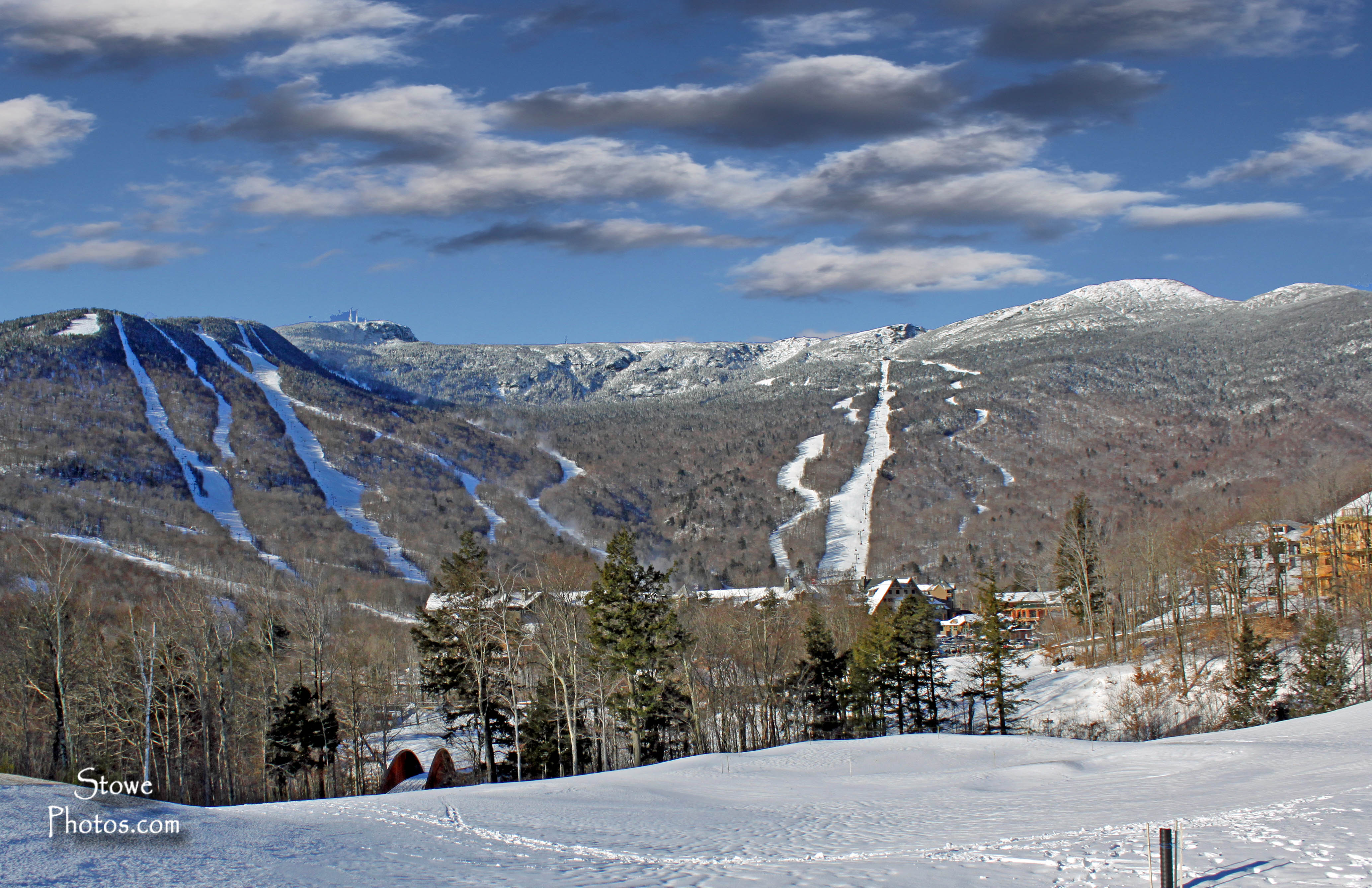 Mt. Mansfield, Stowe, VT - on a cold January morning. | Stowe ...