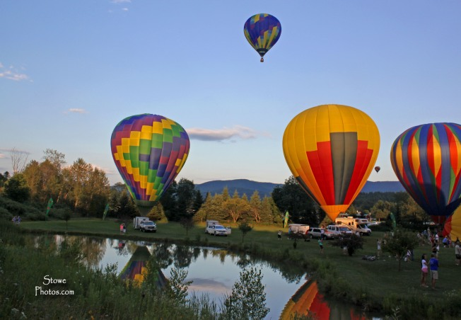 Stowe, VT - Hot Air Balloon Festival