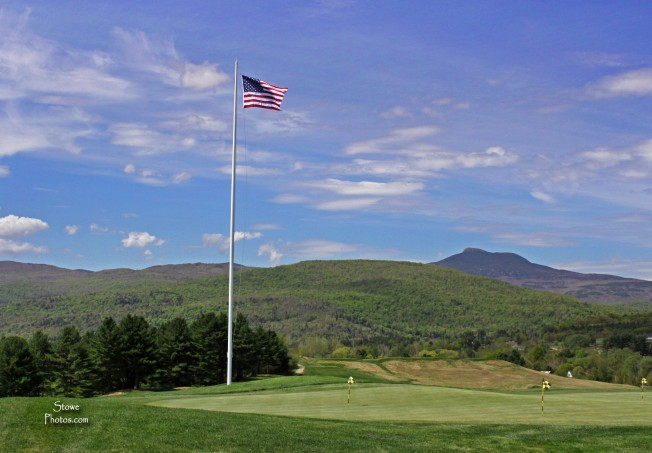 Country Club of Vermont - View of Camels Hump