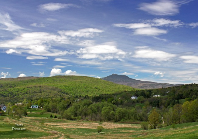 Camels Hump from Country Club of Vermont