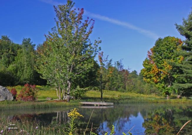 Stowe Vermont - August Dewey Hill Pond