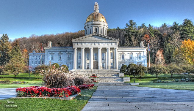 Montpelier, VT - State Capital Building