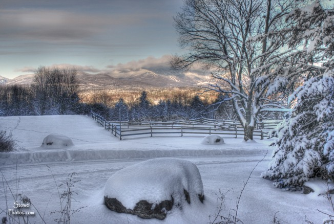 Stowe Vermont - December Sunrise