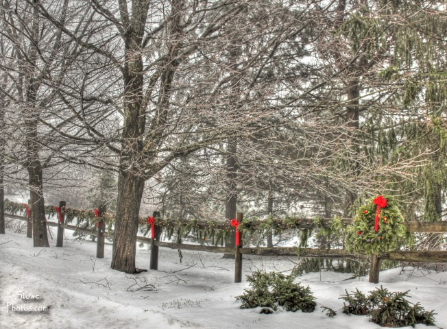 Stowe, VT - Christmas on Owls Head Lane