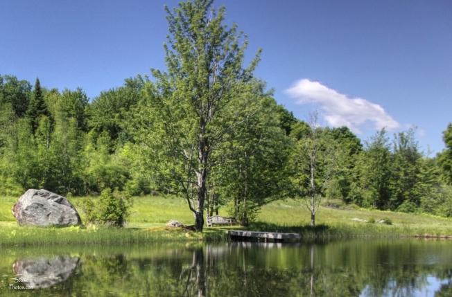 Stowe, Vermont - Dewey Hill Road Pond