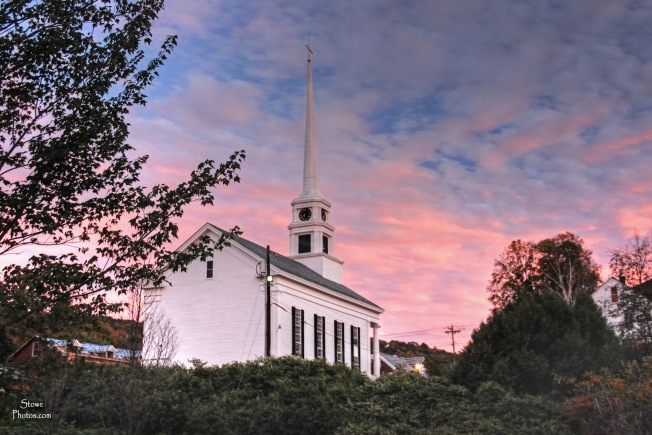 Stowe, VT - Stowe Community Church on October 1, 2015