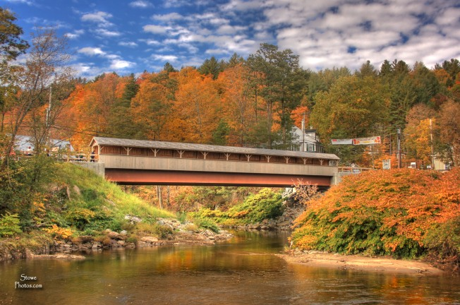 The Mountain Road Bridge - October 13, 2015