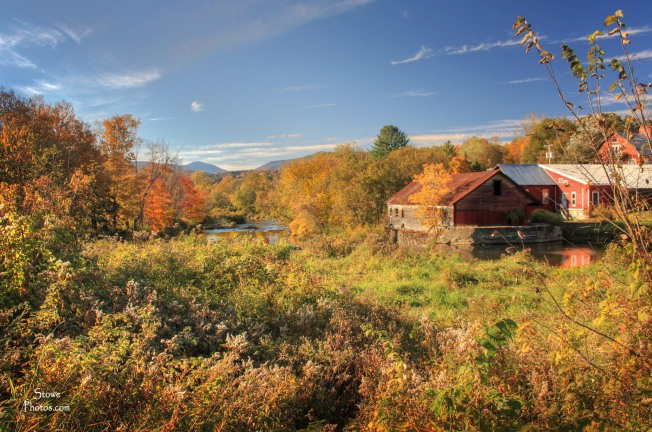 Stowe, VT - Moscow area during fall - October 12, 2015