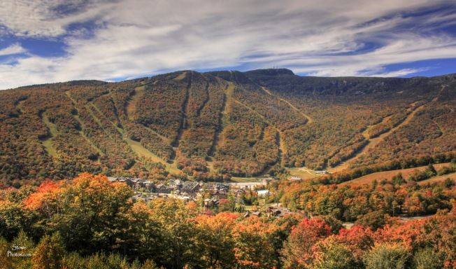 Stowe Mountain Resort - Foliage at the Mountain on October 5, 2015.