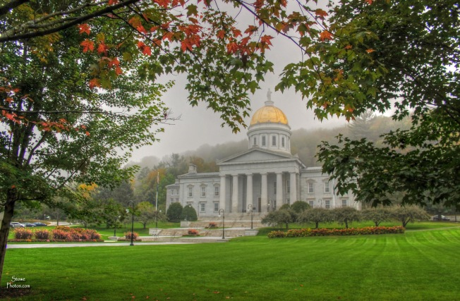 Montpelier, Vermont - State Capitol on 9/24/15