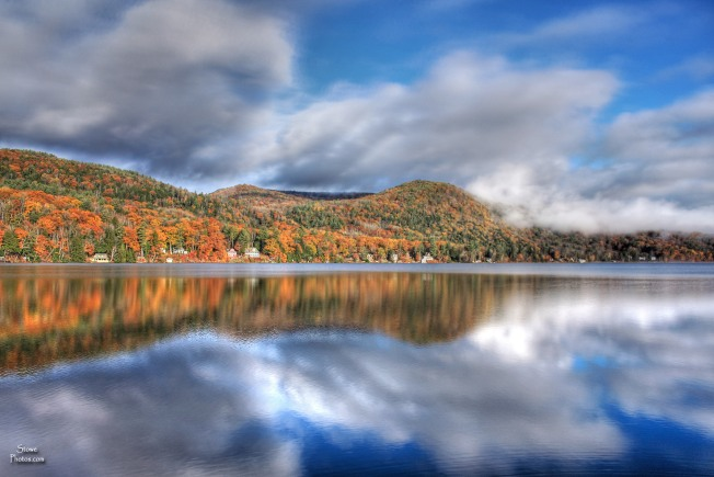 Lake Morey, Vermont - October 30, 2015