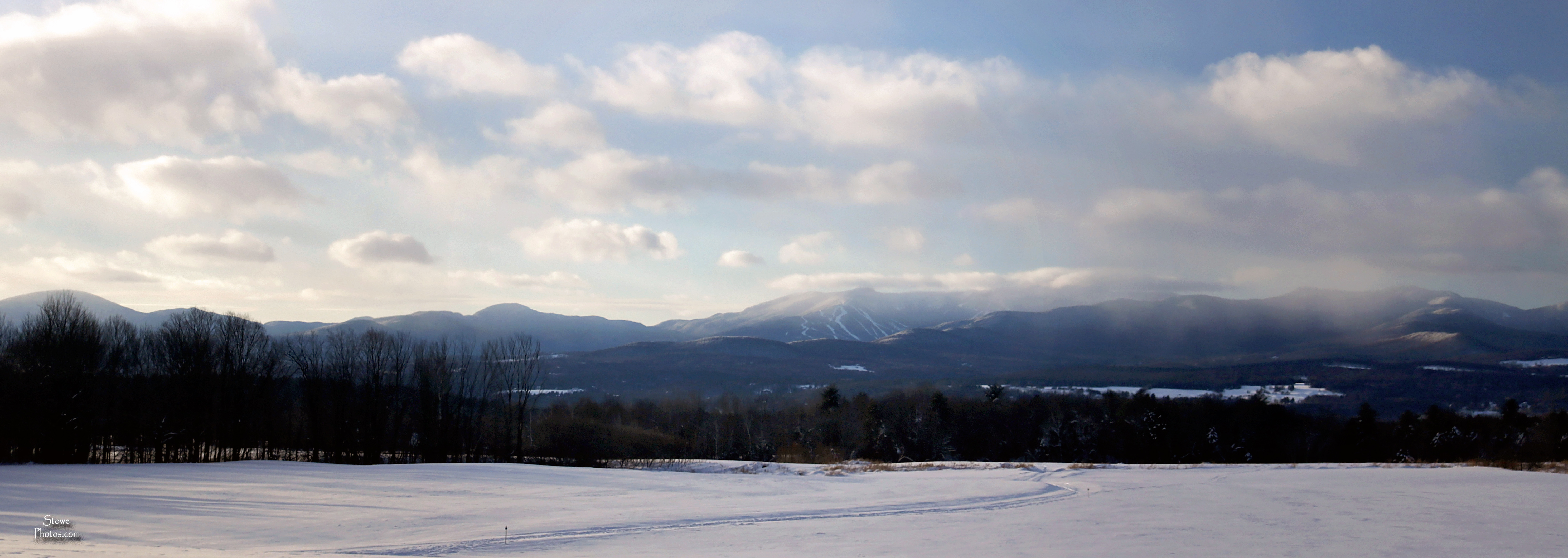 2018 1 1 elmore view to Mt Mansfield