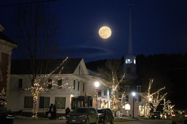 2018 1 30 Stowe Full Moon
