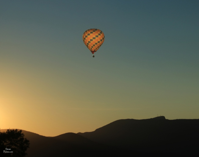 2018 07 07 stowe hot air balloon sun