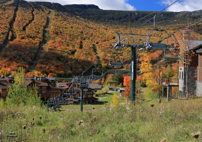 2019 10 08 chairlift and mansfield